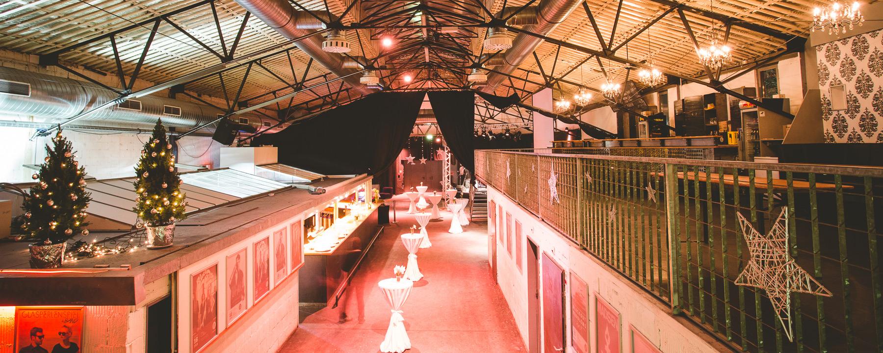 Weihnachtsfeier Ulm.Programm Vermietung Roxy Ulm